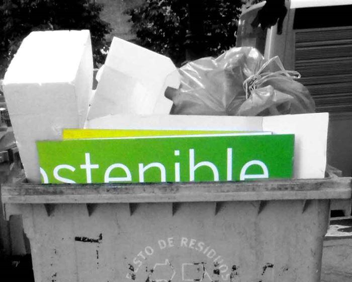 Sostenible verde