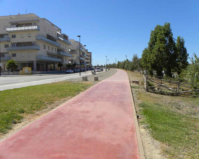 Carril bici Velez Málaga