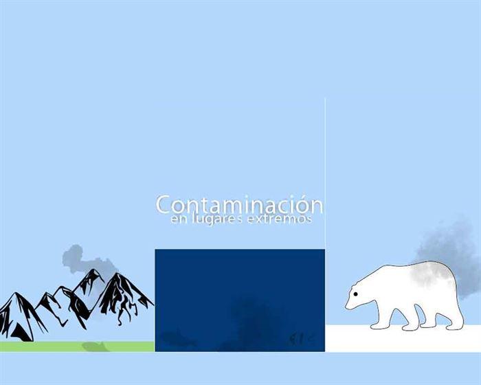 Oso polar contaminación