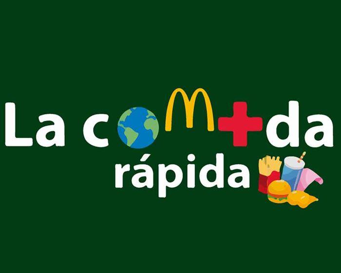 Cartel comida rápida