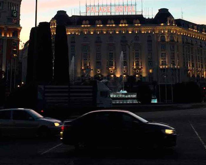 Madrid contaminación nocturna