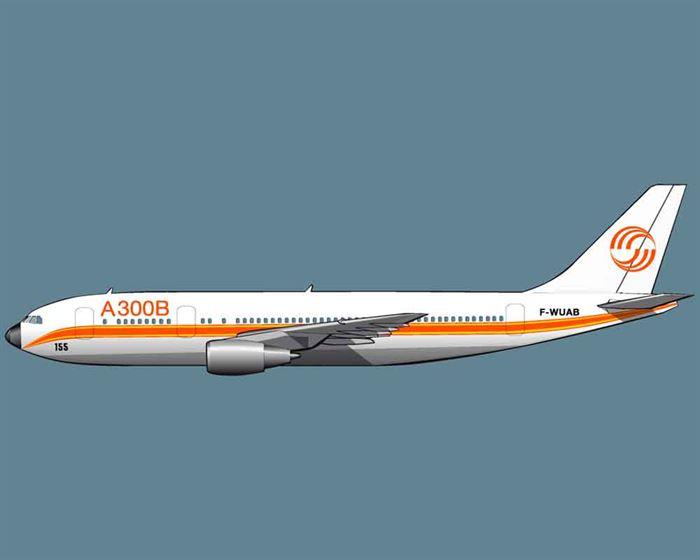 Airbus a300 prototipo 197