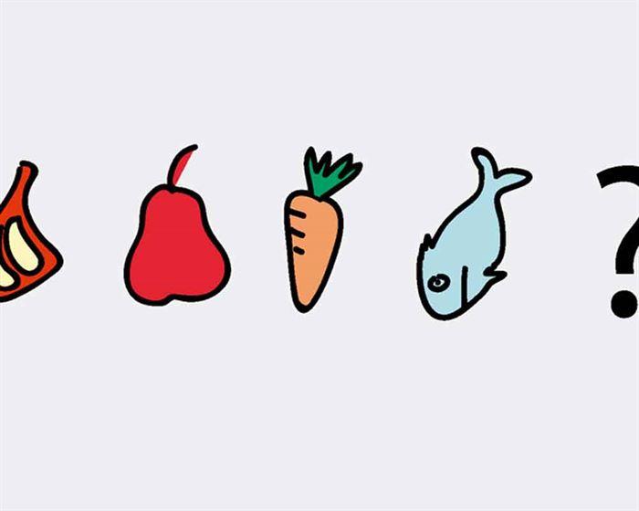 ¿Qué alimento elegir?