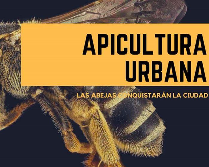 Cartel de apicultura urbana