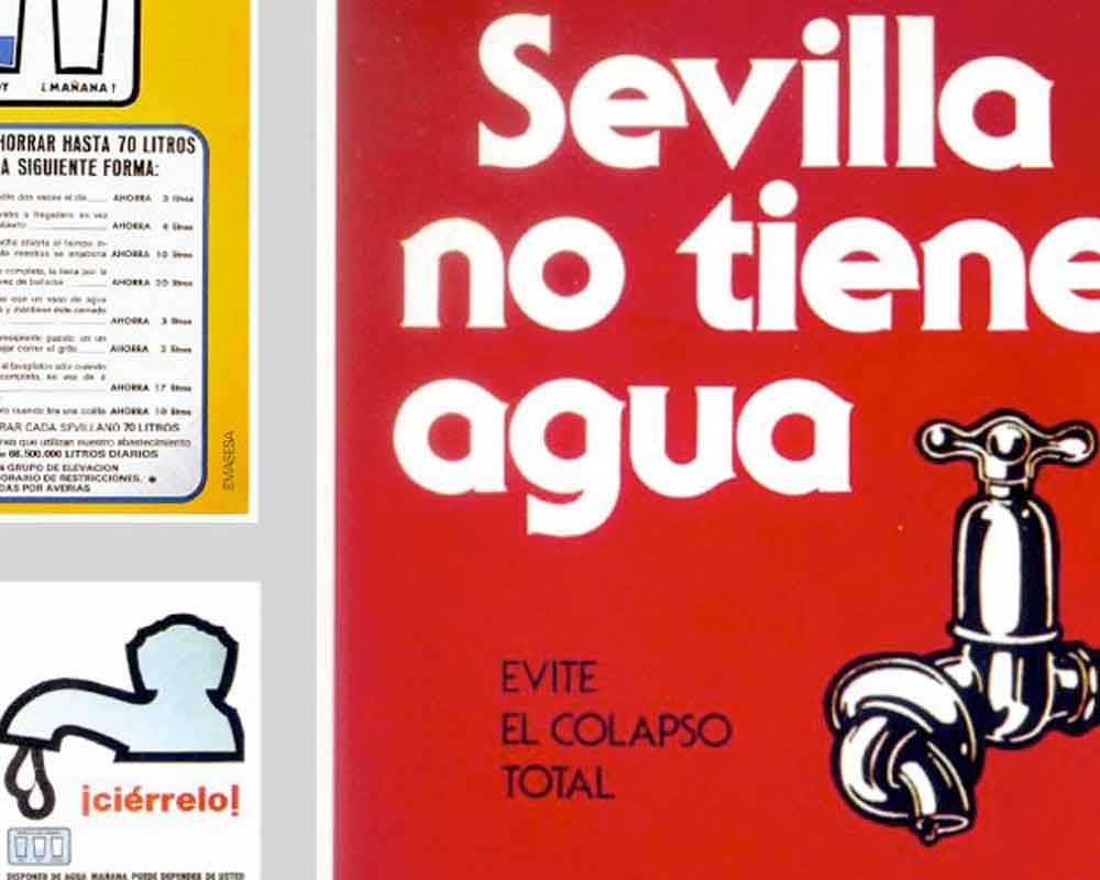 Sequía de Sevilla. Cartel 1975