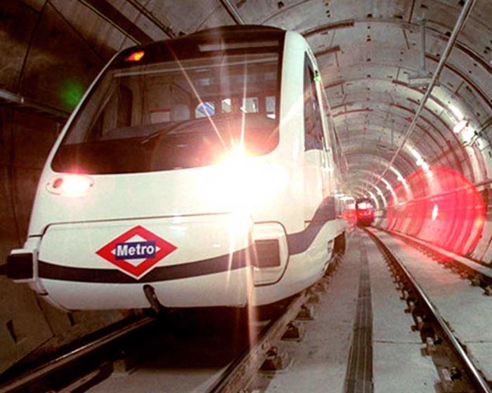 Metro de Madrid túnel