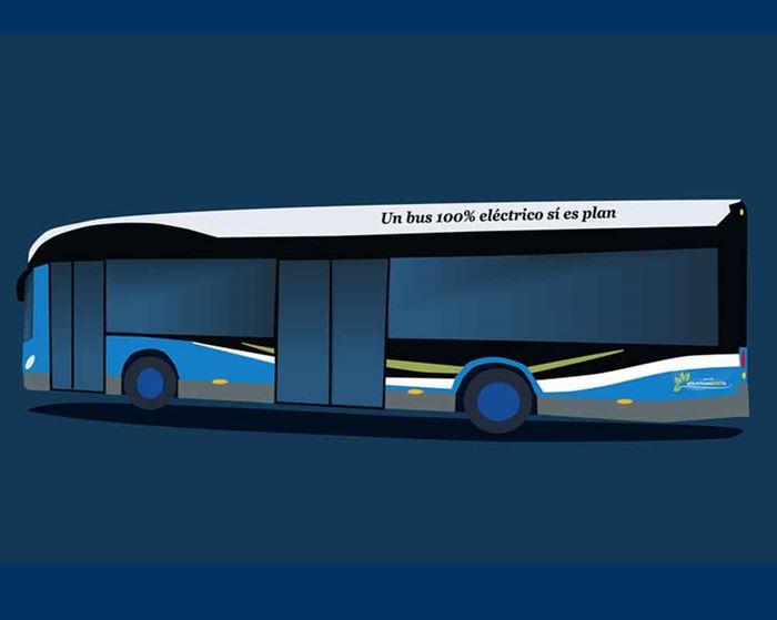 EMT autobús eléctrico