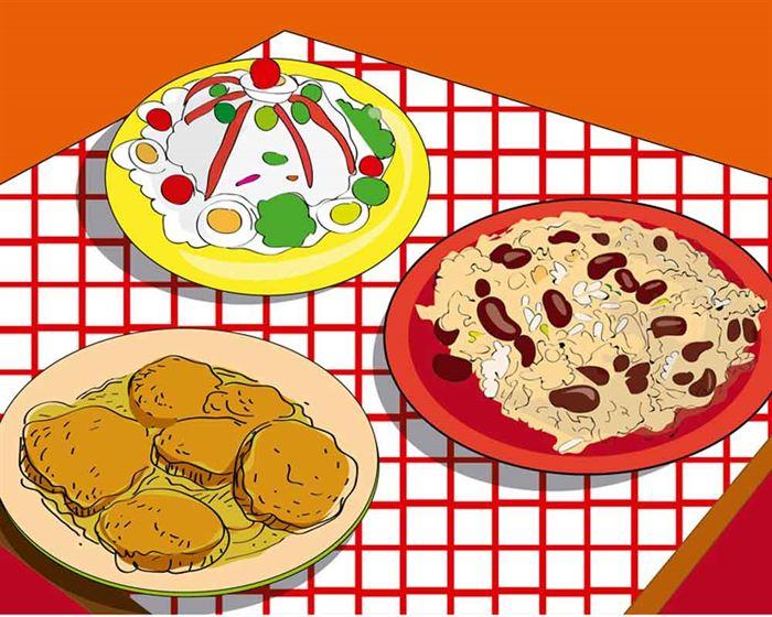 Platos de cocina sostenible