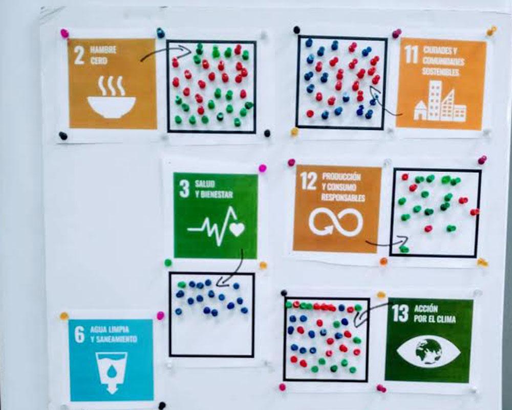 Cartel actividad ODS