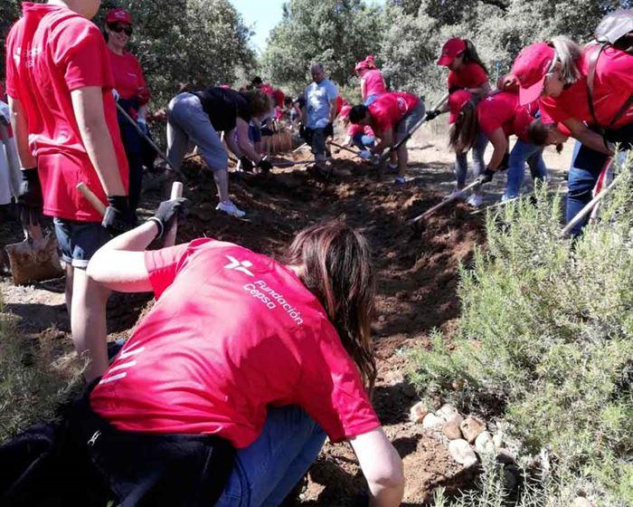 Limpieza de ríos voluntariado Cepsa