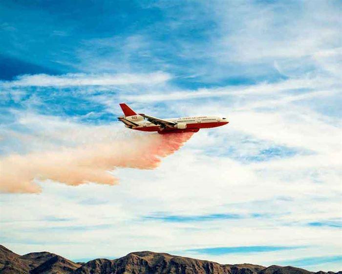 Avión cambio climático