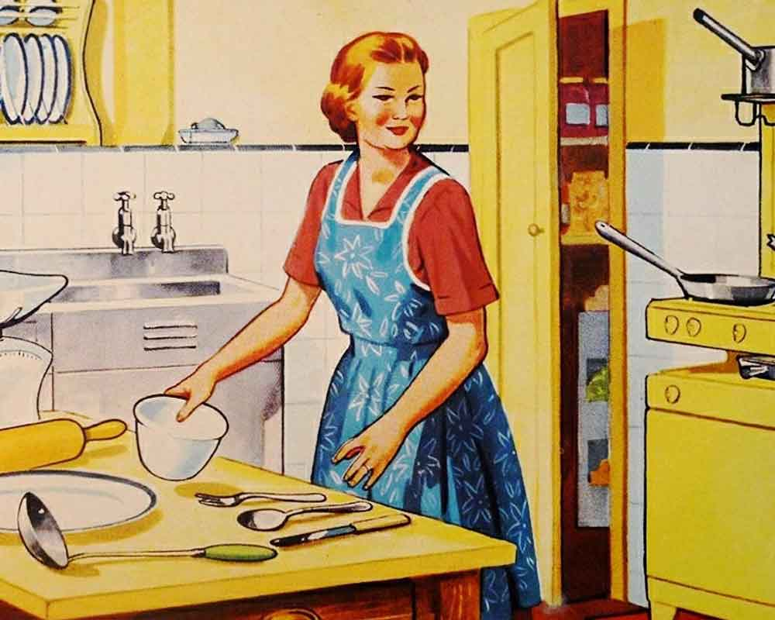 Cocina retro