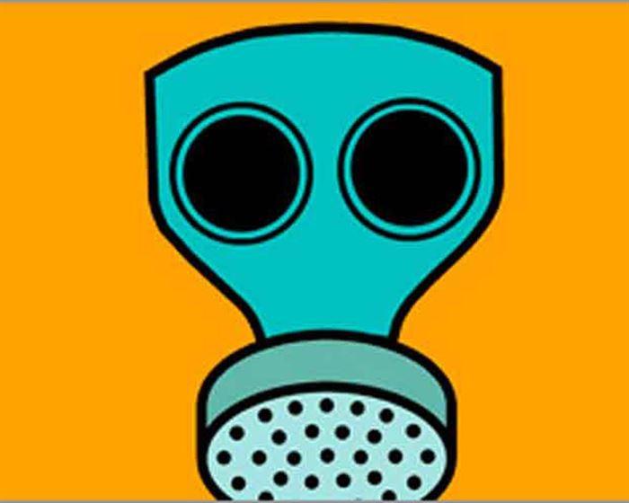 Máscara tóxicos