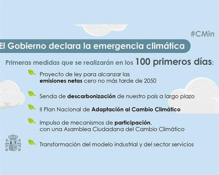 Datos emergencia climática