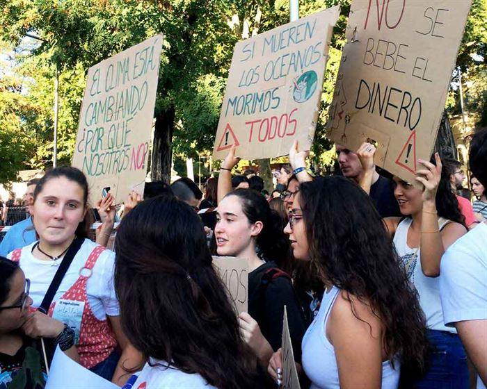 Manifestación por el Clima Madrid 2019