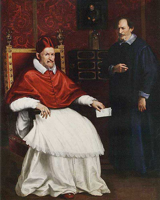 Retrato del Papa Inocencio X