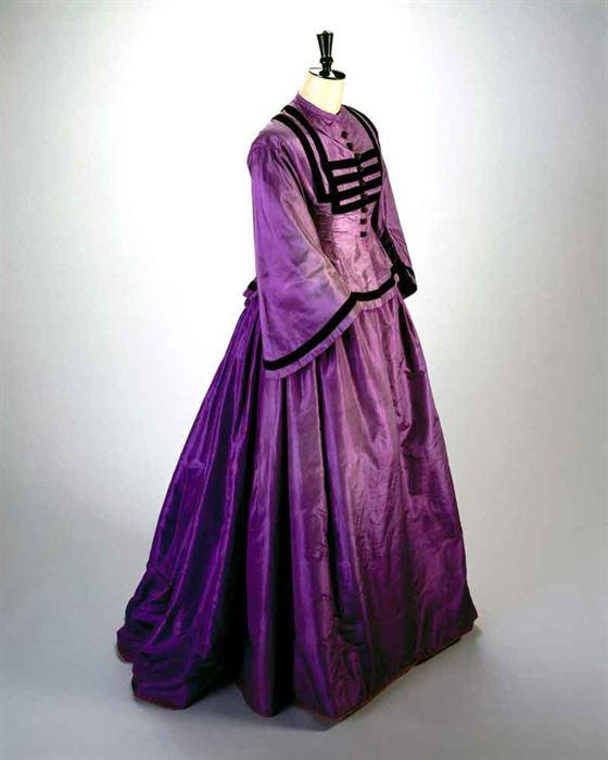 Vestido 1860