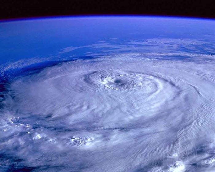 Vista de huracán