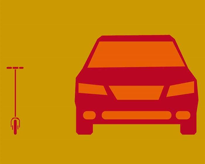 Patinete y SUV