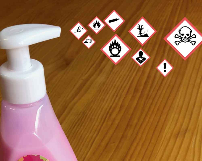 Tóxicos en la limpieza