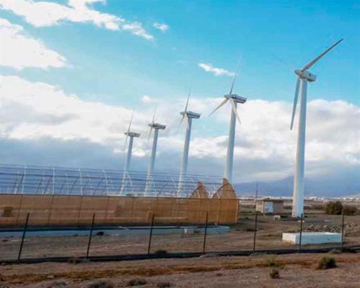 Aerogeneradores Greenpeace