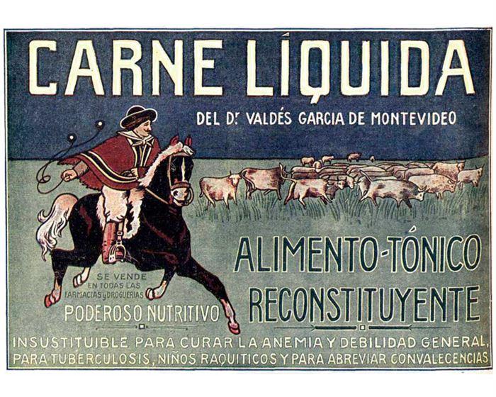 Publicidad carne líquida resconstituyente