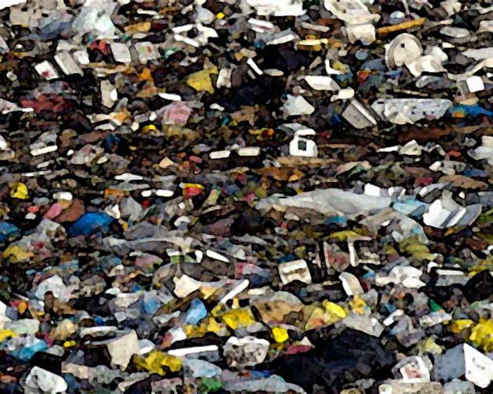 Plásticos residuos