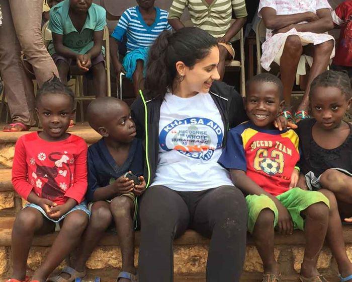 Sonhia Gil en Haití 2017