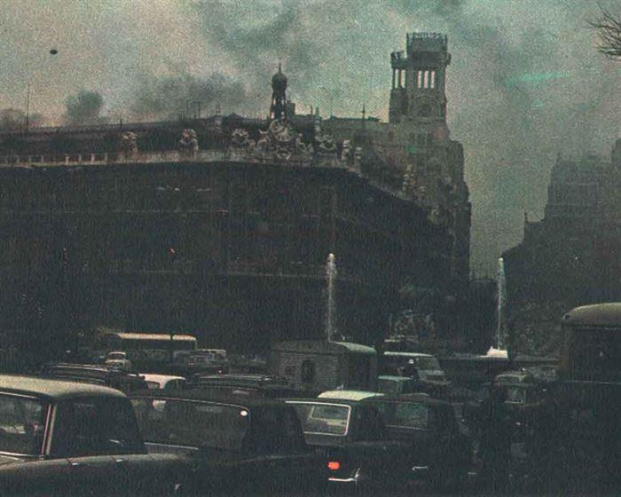 Contaminación atmosférica Madrid 1972