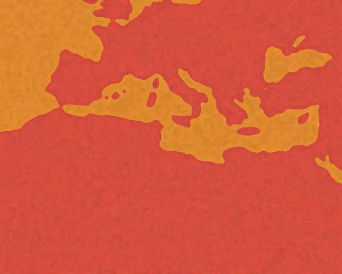 Mapa clima rojo