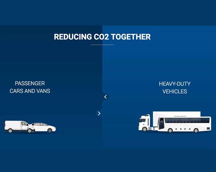 Reducción de CO2 del automóvil
