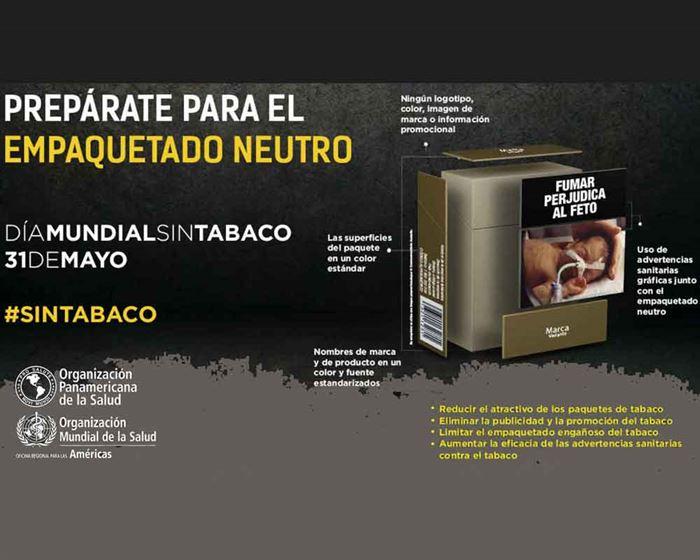 Cartel No al tabaco