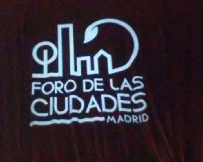 Foro de las ciudades Madrid 2016