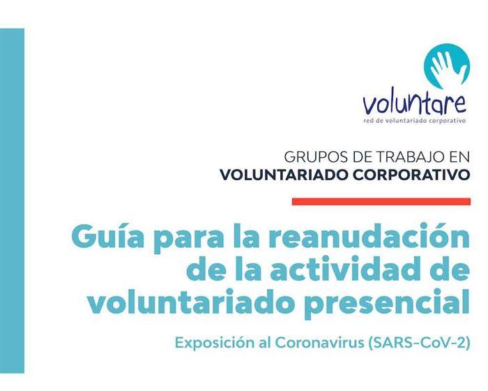 Guía COVID para Voluntariado